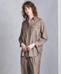 UGMSC W/S 2ポケット ビッグシャツ◆