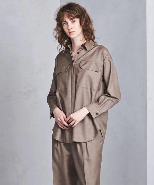 UGMSC W/S 2ポケット ビッグシャツ