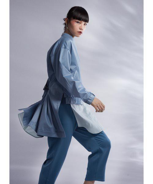 フェオンレイヤードスタンドシャツ