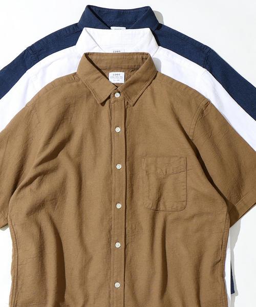 パナマレギュラーカラーシャツ