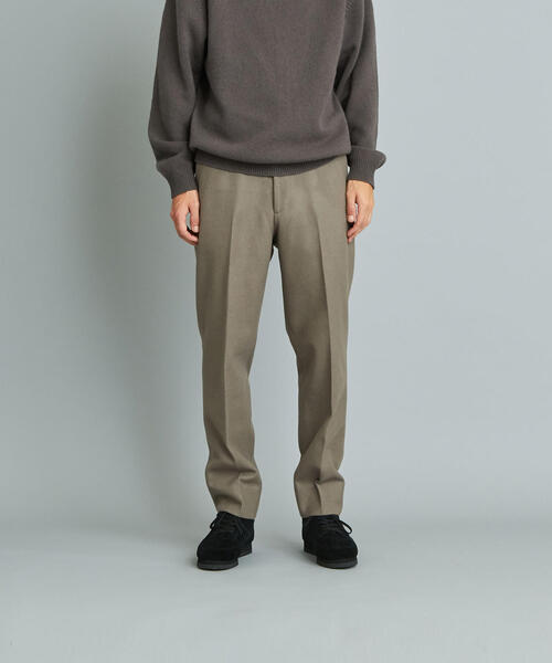 <Steven Alan> MELTON SLOW TAPERED PANTS-JUST/パンツ