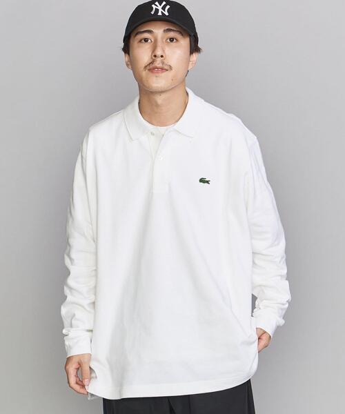 【別注】 <LACOSTE(ラコステ)> BIG LS PLSHT/ポロシャツ