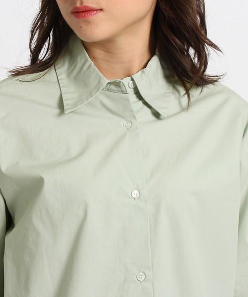【洗える】タイプライタードレスシャツ