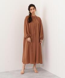 ○SACRA(サクラ) AIRY CLOTH ワンピース
