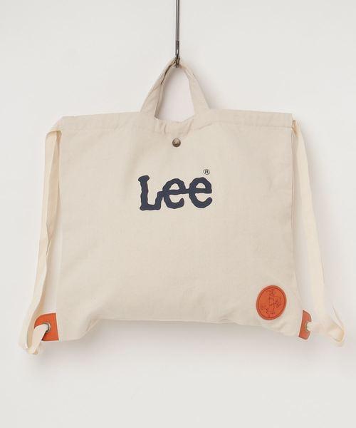 【LEE×hawkcompany】キャンバス2WAYナップザック