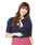 PATTERN・fiona (パターンフィオナ)の「【月9ドラマ着用】ドルマンスカーフ付き2Wayニットプルオーバー(ニット/セーター)」 ネイビー