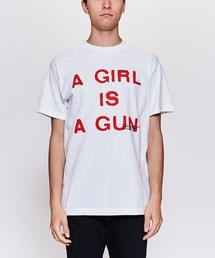 <PLEASURES> A GIRL TEE/Tシャツ
