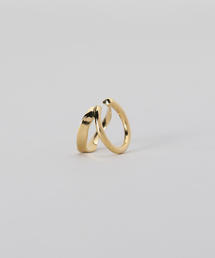 <MARIA BLACK>RIPPLES EAR CUFF GOLD PLATED/イヤーカフ.