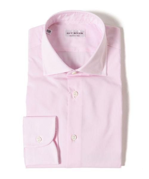 GUY ROVER / ブロード ワイドカラーシャツ