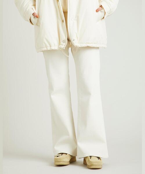 【別注】<Shinzone>CHARLOTTE JEAN ホワイト/デニム ∴