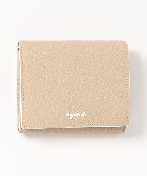 agnes b.(アニエスベー)の「OAW02-01 ウォレット(財布)」 ベージュ