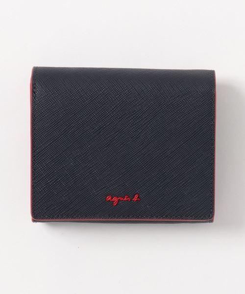 agnes b.(アニエスベー)の「OAW02-01 ウォレット(財布)」 ネイビー