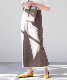 【WEB限定】カラーペンシルスカート(カラースカート/タイトスカート/ロングスカート / ストレッチ)#