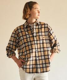 【別注】<Shinzone>ネルチェックオーバーシャツ ∴
