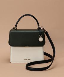 ボックス型トップハンドルバッグ【3年保証対象】(ハンドバッグ)