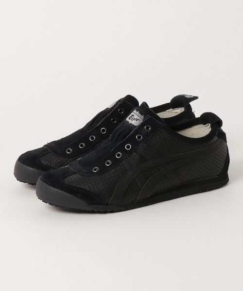 onitsuka tiger mexico 66 slip on black