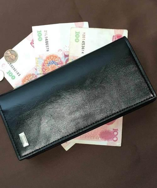 エンブレム長財布