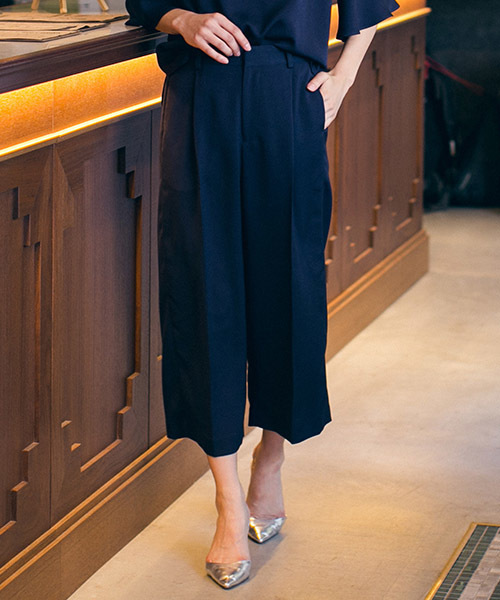 【売れ筋】 ONLINE《SET UPアイテム》NANNAストレッチきれいめガウチョパンツ(パンツ)|la.f…(ラエフ)のファッション通販, 靴のHOSHIKAWA:b999ffd4 --- skoda-tmn.ru