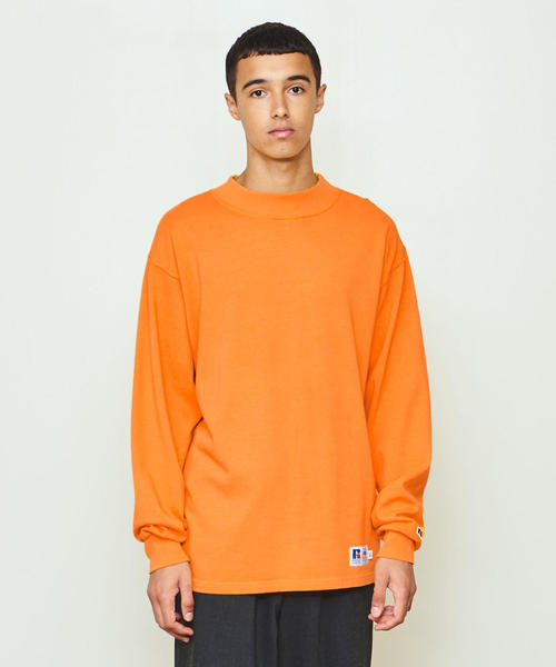 RUSSELL ATHLETIC × UNITED ARROWS & SONS MOCK NECK