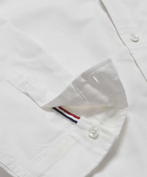 コーデュラオックストリコロール六分袖シャツ ~JAPAN MADE~