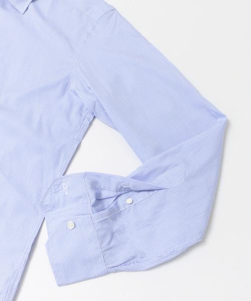 URBAN RESEARCH Tailor セミワイドギンガムチェックシャツ
