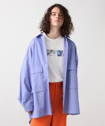 HARE(ハレ)のモンスタービッグポケットシャツ(HARE)(シャツ/ブラウス)