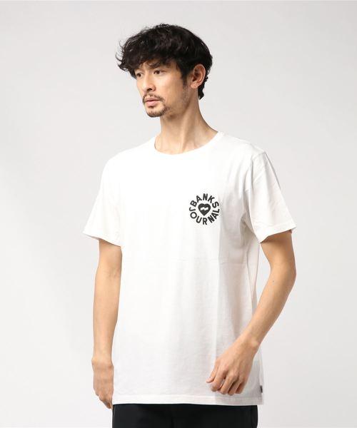 [BANKS/バンクス] HEART RINGS Tシャツ