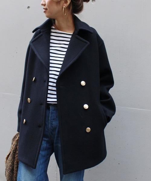 正式的 【ブランド古着】ピーコート(ピーコート)|FRAMeWORK(フレームワーク)のファッション通販 - USED, 久々野町:547615e7 --- kredo24.ru