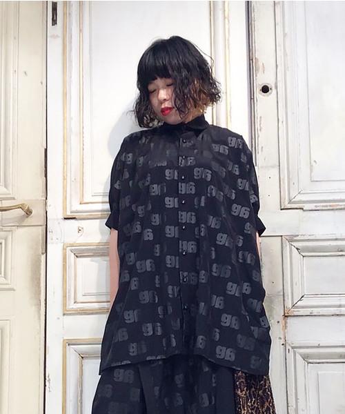 第一ネット gモノグラムP スクエアシャツ(シャツ/ブラウス)|gomme(ゴム)のファッション通販, シースカイ:aab09809 --- disorder.ff-klempau.de