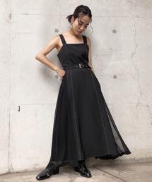 AMERI(アメリ)のBIG POCKET STITCH DRESS(ワンピース)