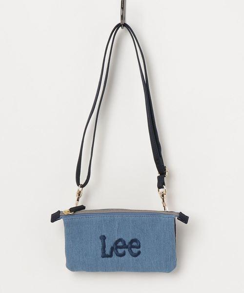 【Lee】ウォレットショルダーバック