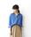 DRESSLAVE(ドレスレイブ)の「cotton double gauze blouse(ガーゼスキッパーシャツ)(シャツ/ブラウス)」|ブルー