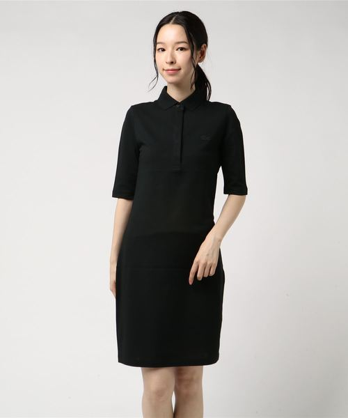 日本に スリムフィットポロドレス(5分袖)(ワンピース) LACOSTE(ラコステ)のファッション通販, ガラス工房イマヤ:f8283966 --- kraltakip.com