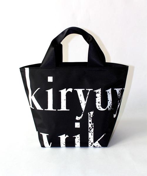 kiryuyrik(キリュウキリュウ)の「TOTE BAG(トートバッグ)」|ブラック×ホワイト