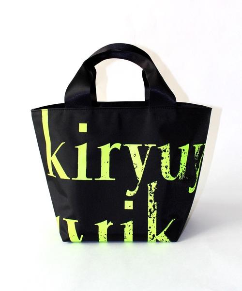 kiryuyrik(キリュウキリュウ)の「TOTE BAG(トートバッグ)」 ブラック×イエロー