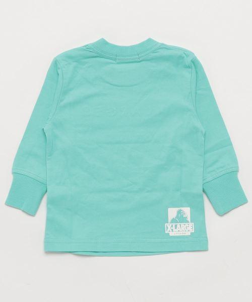 フロントロゴ長袖Tシャツ