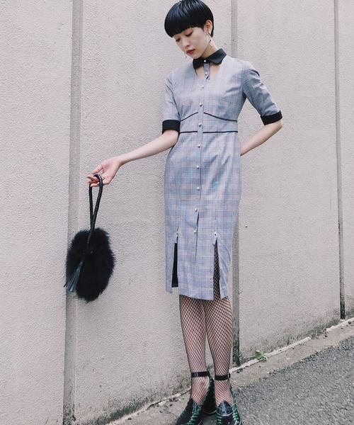 低価格で大人気の Open Kneck Dress(ワンピース)|PAMEO Kneck PAMEO POSE(パメオポーズ)のファッション通販, ライトインテリア照明 DOTS-NEXT:2086423b --- 5613dcaibao.eu.org