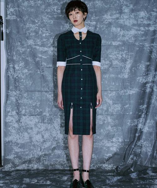 【即納】 Open Kneck Kneck Dress(ワンピース) PAMEO PAMEO POSE(パメオポーズ)のファッション通販, インテリア通販Reliable:ce441754 --- 5613dcaibao.eu.org