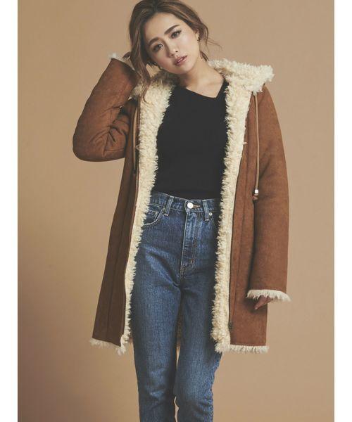 超安い品質 【セール】【WEB限定】フード付裏ボアムートンコート(ムートンコート) RESEXXY(リゼクシー)のファッション通販, 古着屋mellow:784bb80e --- icsbestway.ru