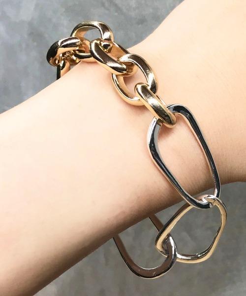 【Nothing And Others】Mix Metallic Bracelet