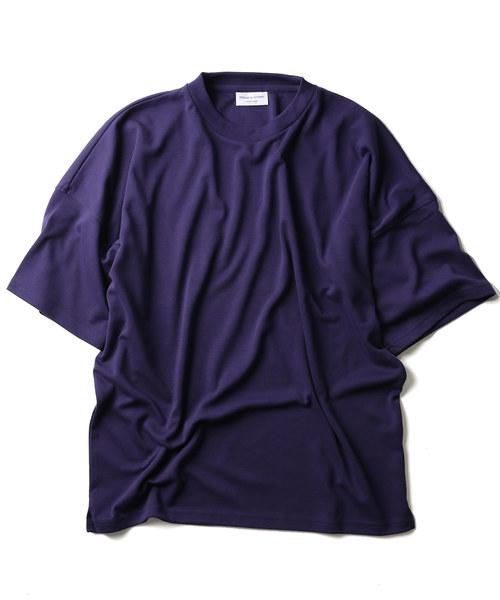 T/Cビッグシルエット ポンチTシャツ/半袖Tシャツ