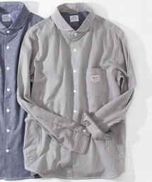 coen(コーエン)のSMITH別注ショールカラーワークシャツ(シャツ/ブラウス)