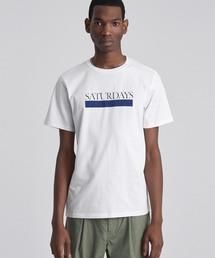 cc0734ef84 Saturdays NYC(サタデーズ ニューヨークシティ)の「Bar Underline T-Shirt(T