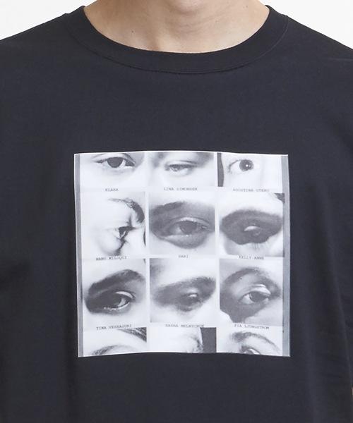Eyes Printed T-Shirt