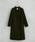 UNITED TOKYO(ユナイテッドトウキョウ)の「Vネックノーカラーコート(その他アウター)」|カーキ