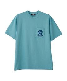 HYS AIR ポケット付きTシャツターコイズブルー