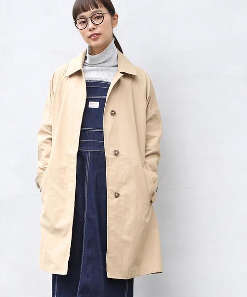 【大人気・追加生産】ステンカラーコート