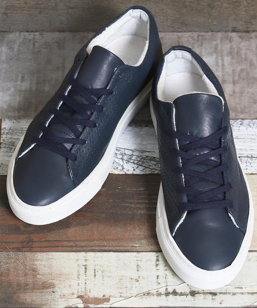 正規品販売! 【セール】アラウンドザシューズ PORTUGAL/around the shoes MADE IN IN PORTUGAL shoes パンチングローカットスニーカー(スニーカー)|around the shoes(アラウンドザシューズ)のファッション通販, JSPTOKAI:1ab967ba --- ulasuga-guggen.de