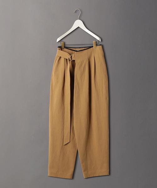 <6(ROKU)>PIPING LEATHER PANTS/パンツ