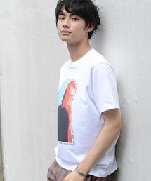 【メンズ】SUMMER PHOTOプリントTシャツ